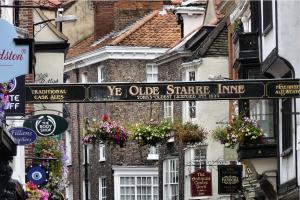 Center of an English village