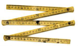 Folding meter